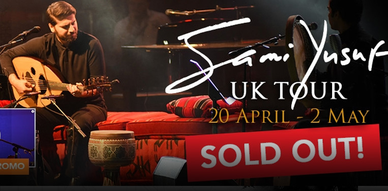 Sami Yusuf is back for another spectacular tour this April