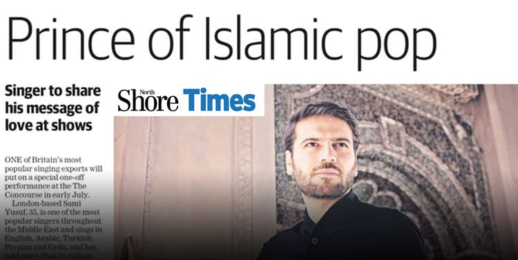 North Shore Times: Prince of Islamic pop