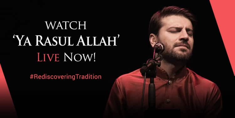 Rediscover Tradition: Watch 'Ya Rasul Allah' LIVE