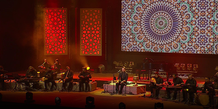 'Fiyyashiyya (Live at Mawazine)' Out Now