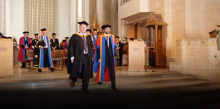 Sami Yusuf Awarded Honorary Doctorate!