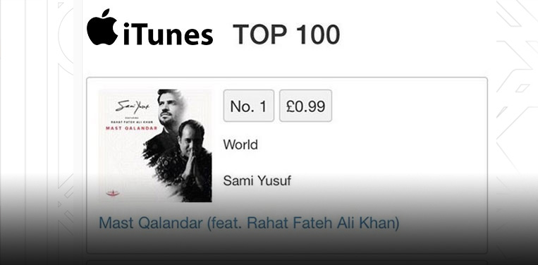 'Mast Qalandar' reigns at #1 on iTunes!