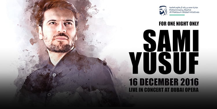 Sami Yusuf to perform at Dubai Opera