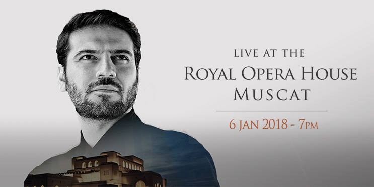 Sami Yusuf to perform at the Opera House Muscat